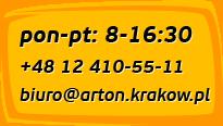 pon-pt: 8-16:30 +48 12 410-55-11